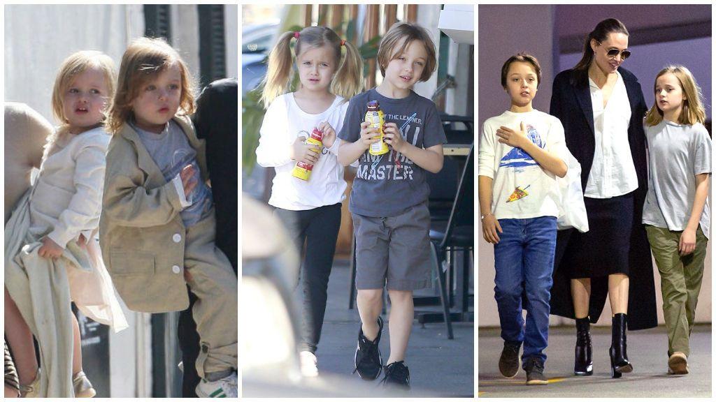 Los hijos pequeños de Brad y Angelina ya tienen 12 años: así son los gemelos Jolie-Pitt.