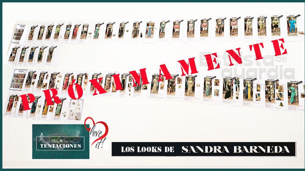 Los looks de Sandra