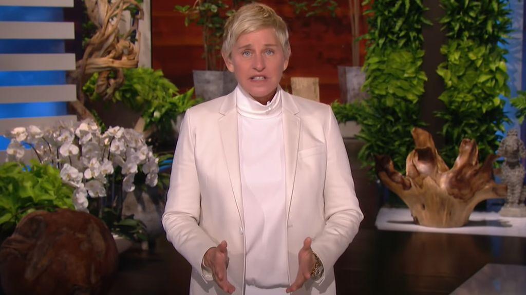 """Ellen DeGeneres reaparece tras las denuncias por ambiente tóxico en su programa: """"Me responsabilizo de todo"""""""