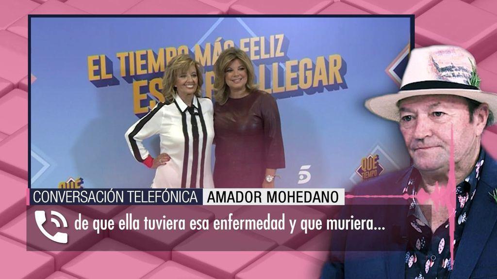 Amador Mohedano estalla contra la familia Campos