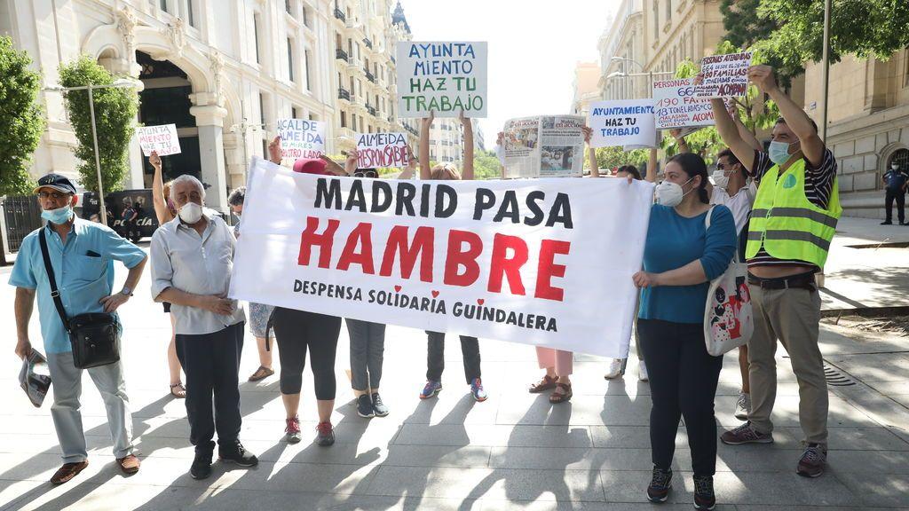 Dos de cada tres habitantes del sur de Madrid han recibido ayuda alimentaria durante la crisis de coronavirus