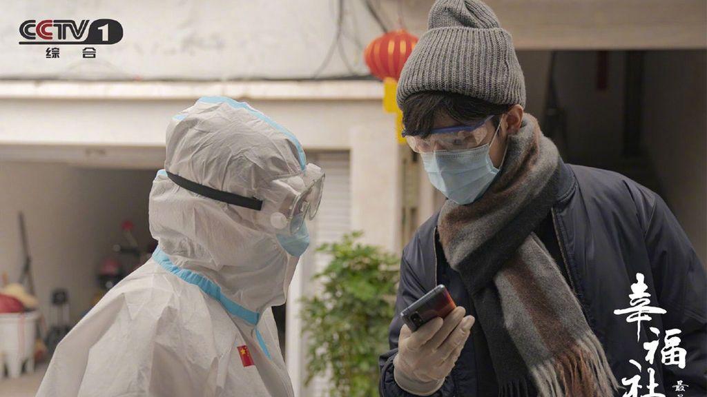 'Héroes in harm's way', serie china sobre la pandemia