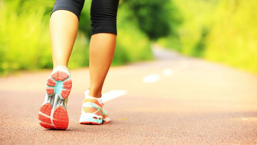 Diferencias entre 'power walking' y 'running'
