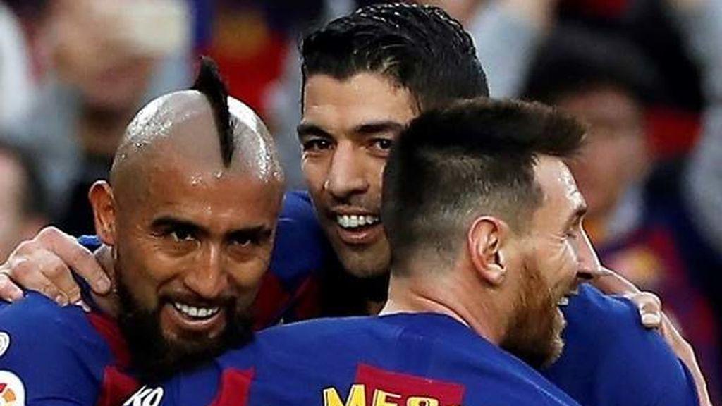 La salida de Suárez y Vidal debilita el liderazgo de Messi dentro del vestuario del Barça