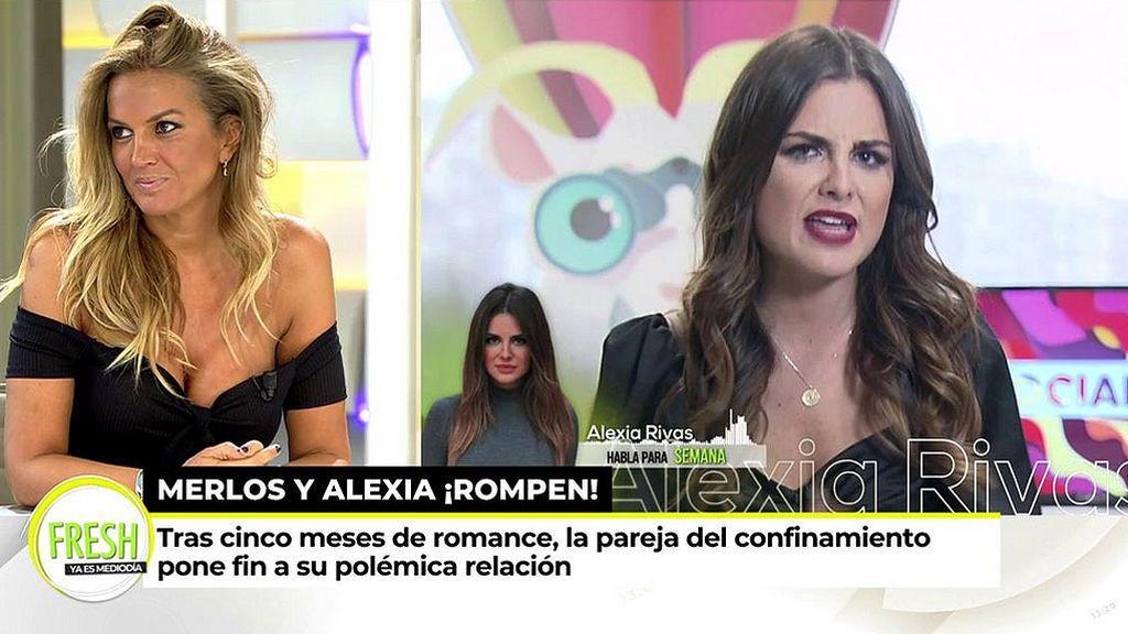 """Marta López, sobre la ruptura Alexia-Merlos: """"Me consta que Alfonso sigue pensando en mí"""""""