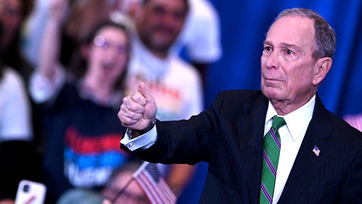 Todo por Florida: Bloomberg y Spielberg recaudan 20 millones de dólares para que voten 30.000 expresos