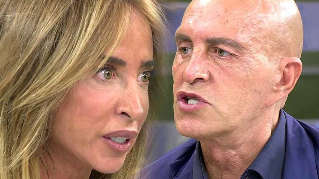 """María Patiño se enfrenta a Kiko Matamoros: """"Has intentando evitar por todos los medios que intervenga el padre de Javier Tudela"""""""