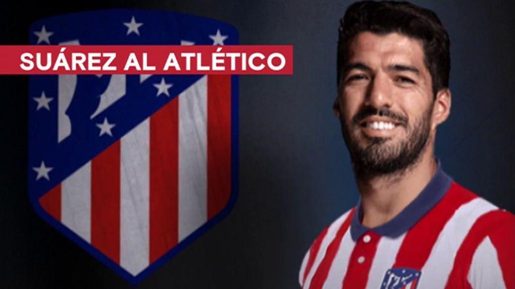Luis Suárez es nuevo jugador del Atlético de Madrid para las dos próximas temporadas