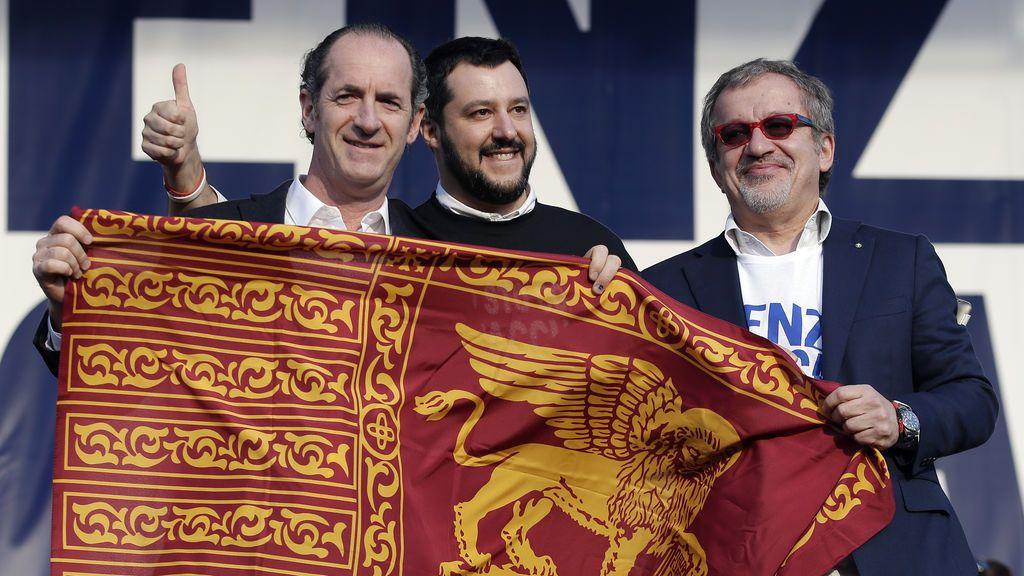 Luca Zaia, el nuevo zar de la Liga que amenaza el liderazgo de Salvini