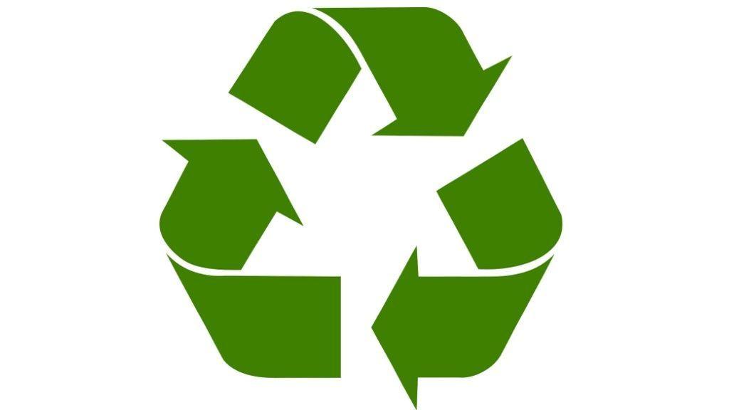 Símbolo del reciclaje.
