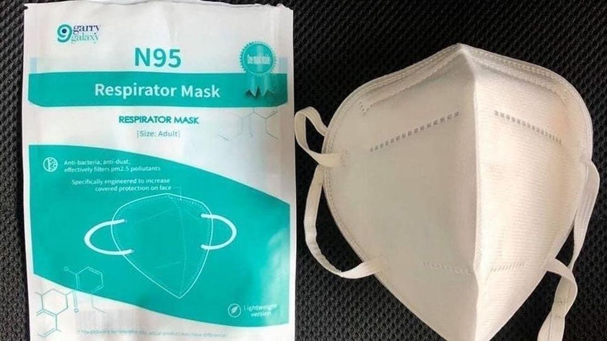 En octubre se dejarán de vender las mascarillas KN95