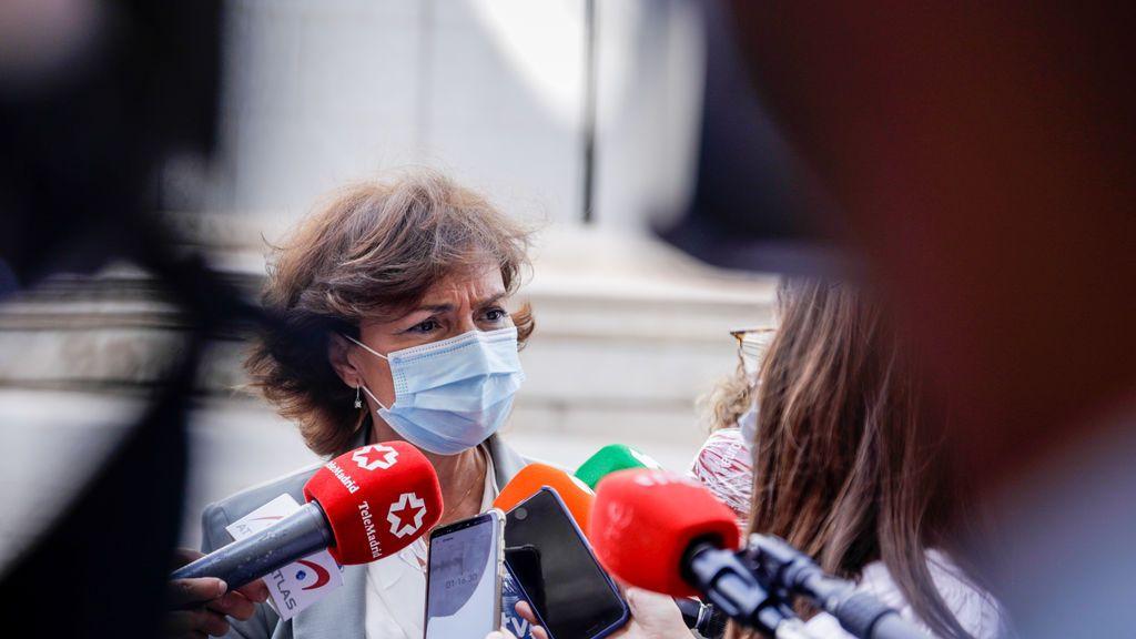 """Calvo sobre la ausencia del rey en un acto de jueces en Barcelona: """"Hay decisiones que están muy bien tomadas"""""""