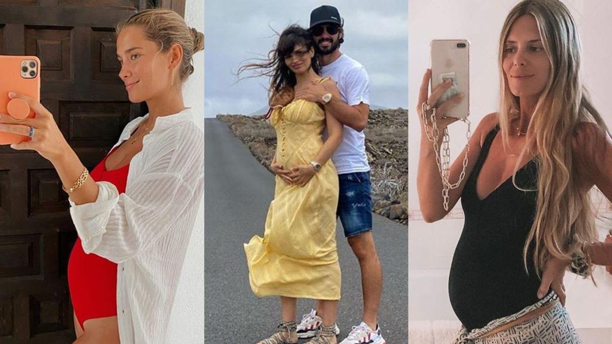 Baby boom en Instagram: Estas influencers de moda se convertirtán en mamás en 2021