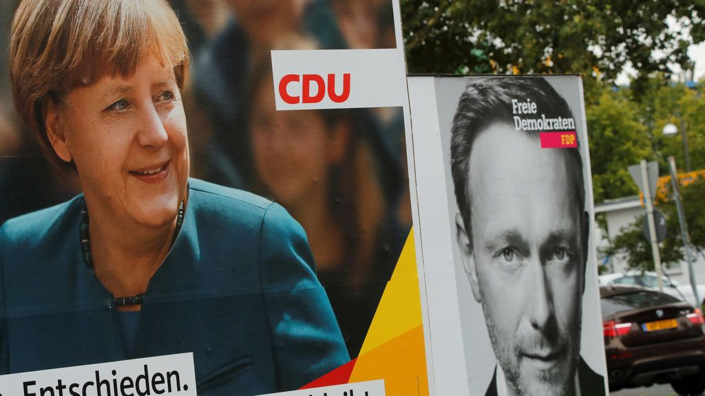 Los liberales alemanes quieren gobernar tres años después de haber rechazado a Merkel
