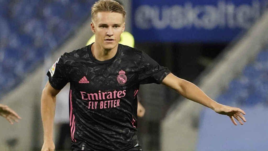 Martin Odegaard no se entrena con el Real Madrid pese a su falso negativo por coronavirus