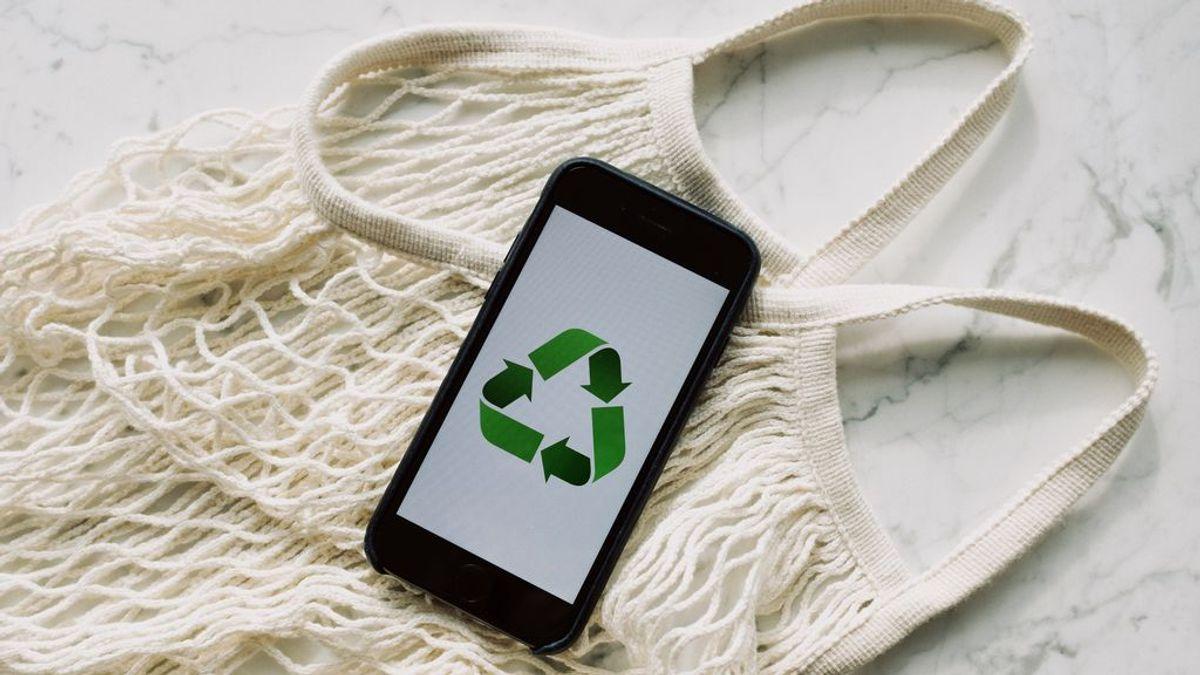 Los símbolos del reciclaje aportan más información sobre los productos.