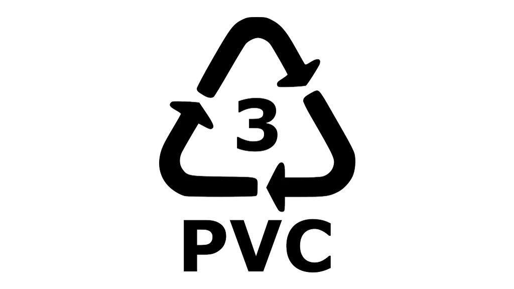 Símbolo del PVC.