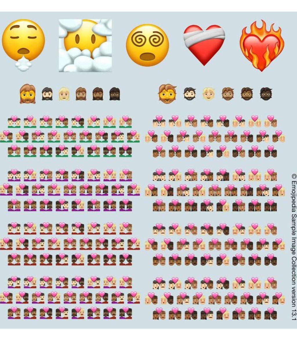 Los nuevos emojis que veremos en 2021