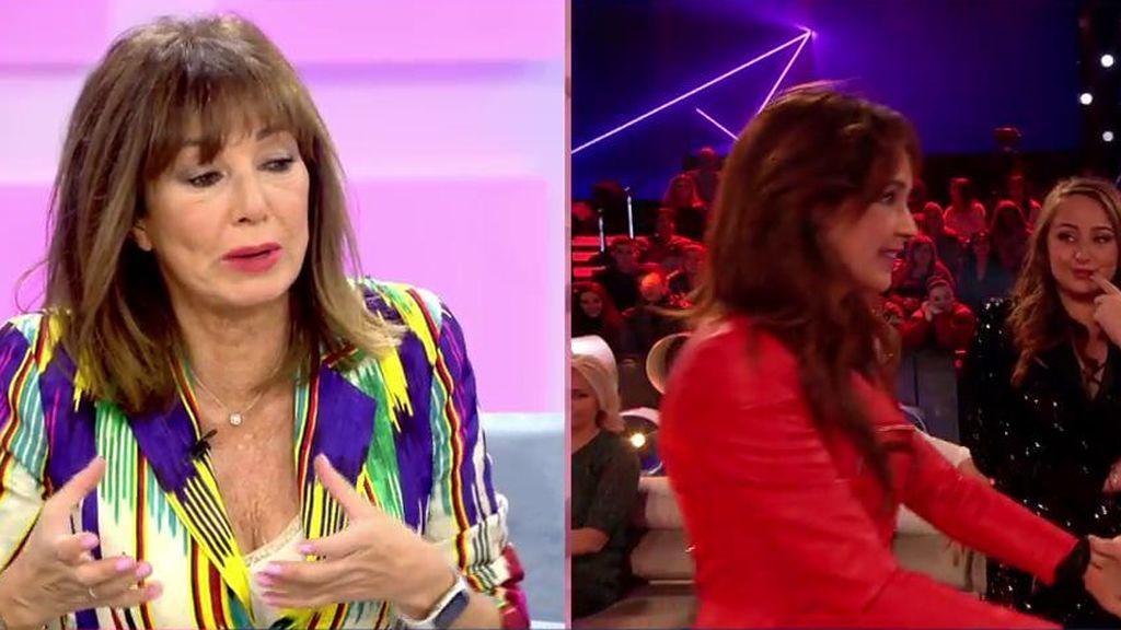 Ana Rosa defiende a Olga Moreno de su entrevista