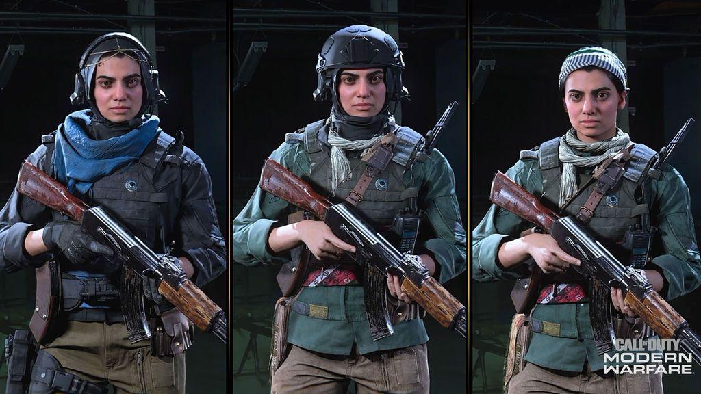 Call of Duty Modern Warfare y Warzone_Farah