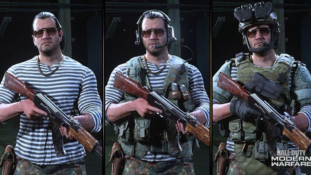 Call of Duty Modern Warfare y Warzone_Nikolai