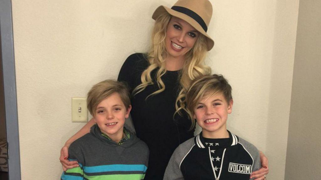 ¿Dónde viven los dos hijos de Britney Spears?