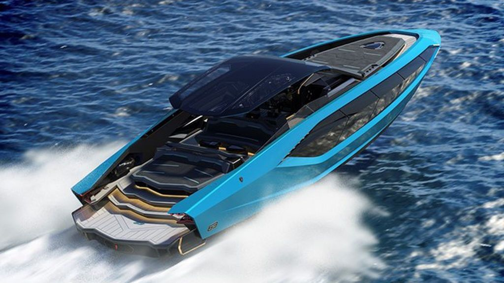 Tres millones de euros en el mar: el exclusivo yate de Lamborghini