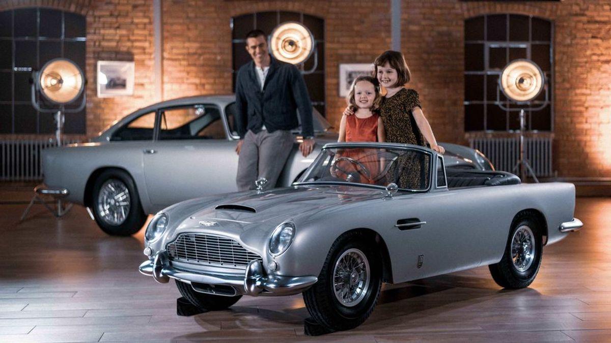 Aston Martin DB5: el coche de James Bond llega en formato eléctrico y tamaño junior