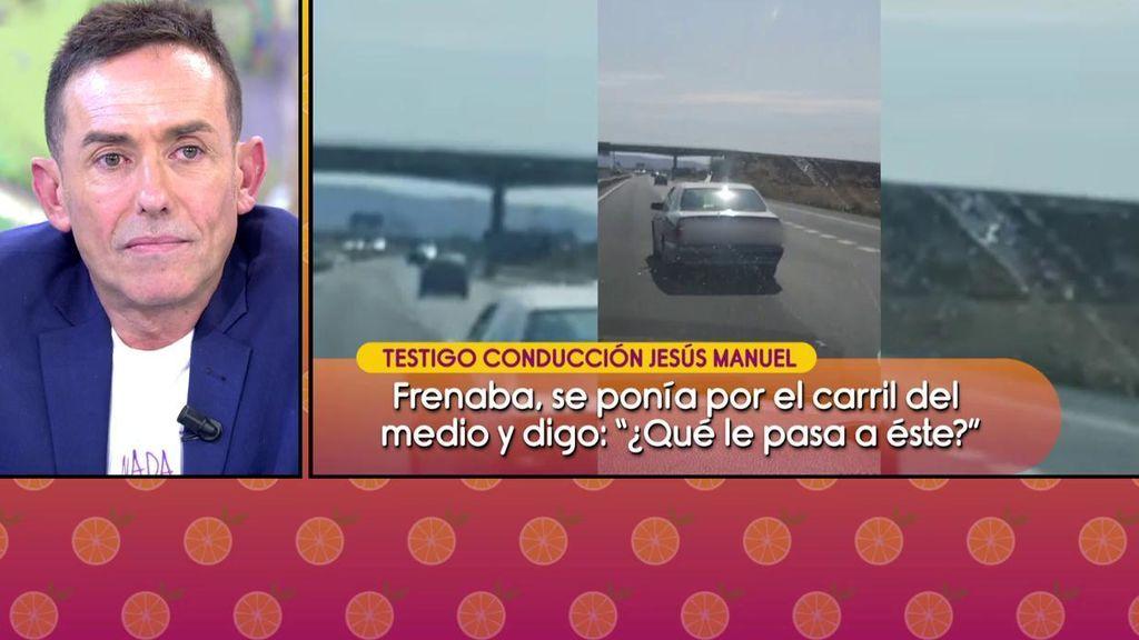 """Jesús Manuel Ruiz responde a los que le acusan de conducir imprudentemente: """"Me bailaban la jota"""""""