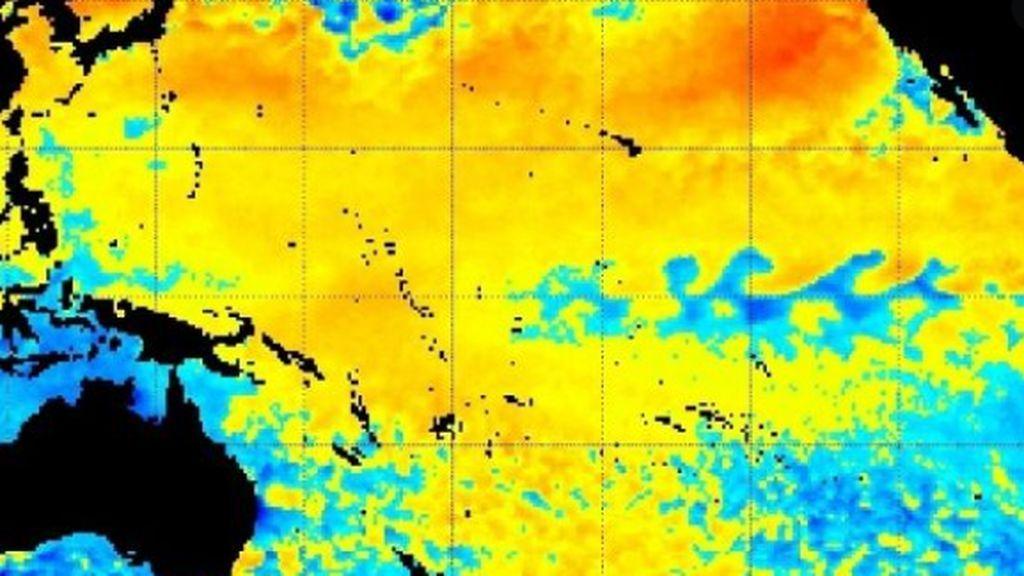 Los riesgos de olas de calor marinas se disparan por el cambio climático