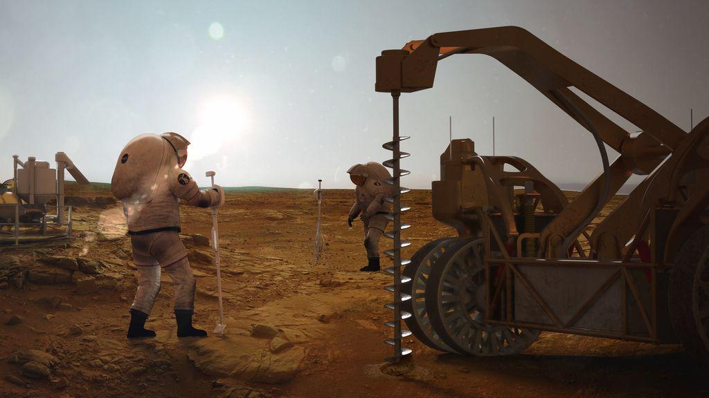 ¿Puede haber vida en el interior profundo de Marte y la Luna?