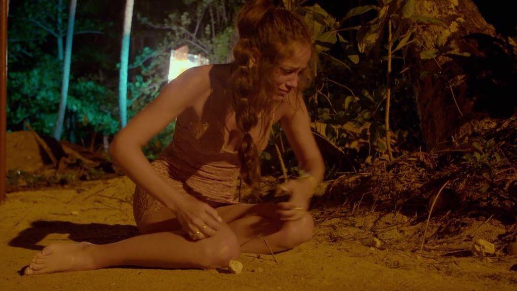 Melyssa se quiebra y huye despavorida en su primera hoguera, próximamente en 'La isla de las tentaciones'