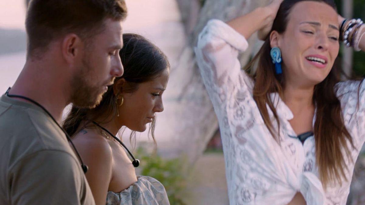 Primer varapalo para Melyssa y Marta, que acaban entre lágrimas por las traiciones de Tom y Lester