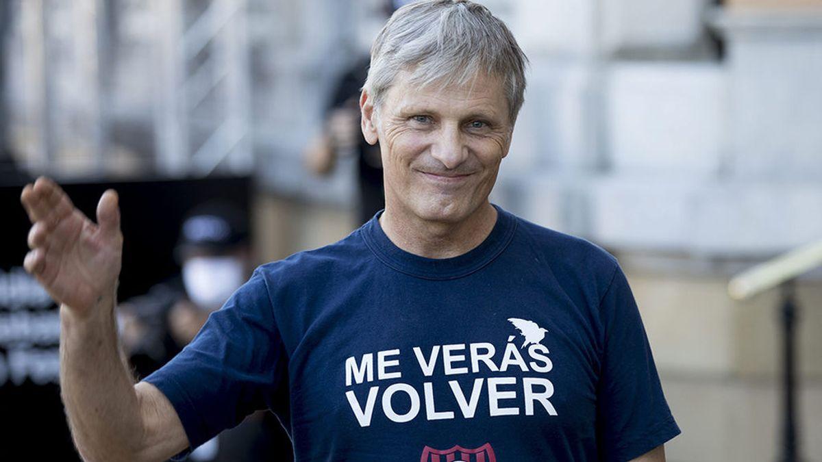 """Viggo Mortensen, en San Sebastián: """"Ahora somos más conscientes de que la vida es limitada,  un regalo, y hay que hacer lo que realmente se quiere"""""""