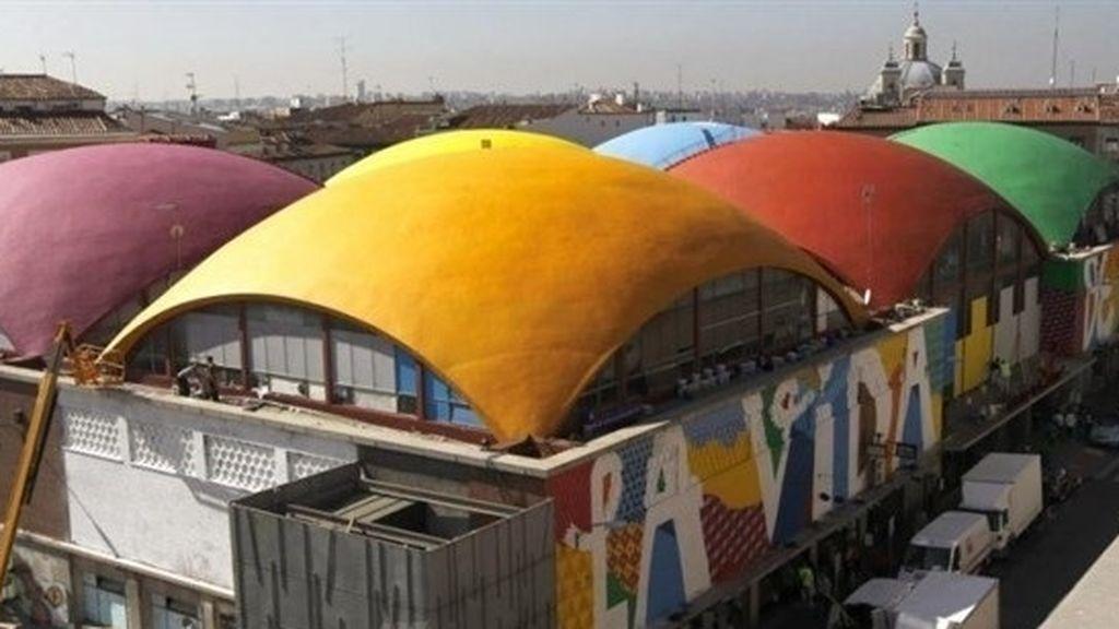 Mercado de la Cebada de Madrid