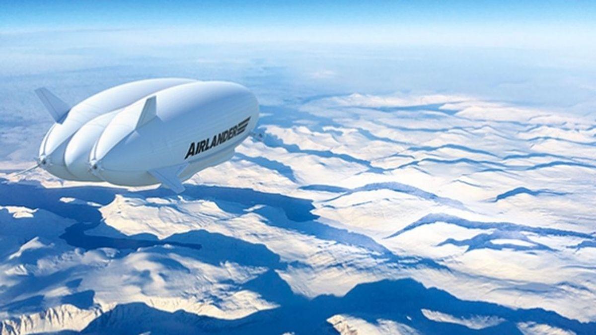 Airlander 10: el dirigible del siglo XXI que realizará viajes del lujo al Polo Norte