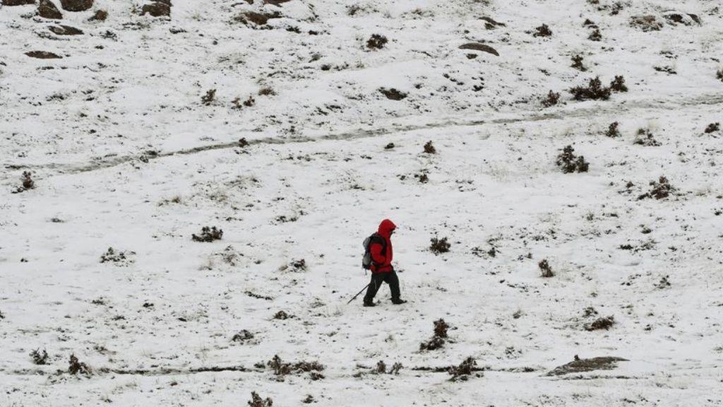 Odette traerá nieve y pondrá en alerta naranja a Cataluña, Cantabria y País Vasco