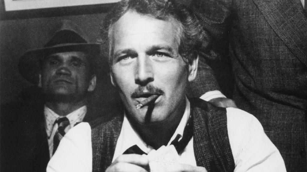 Paul Newman, fumando en 'El Golpe' (1973)