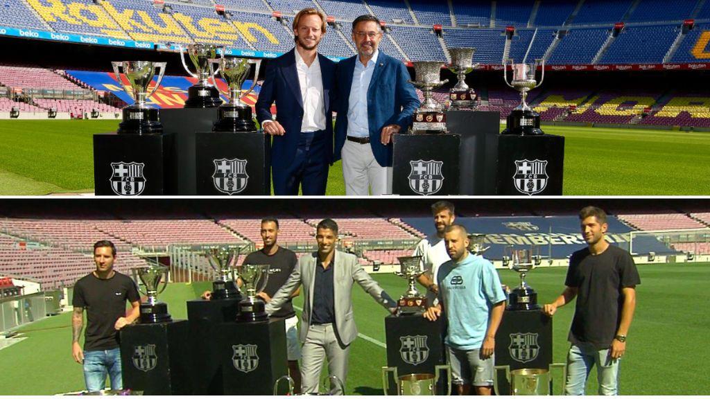 Las despedidas de Luis Suárez y Rakitic ponen de manifiesto las amistades dentro del vestuario del Barça