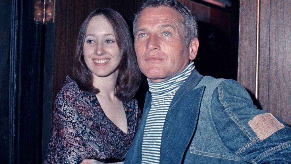 Paul Newman con su hija Susan