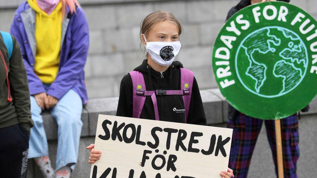 """Greta Thunberg celebra el reinicio del movimiento 'Fridays for Future': """"Qué gran éxito"""""""