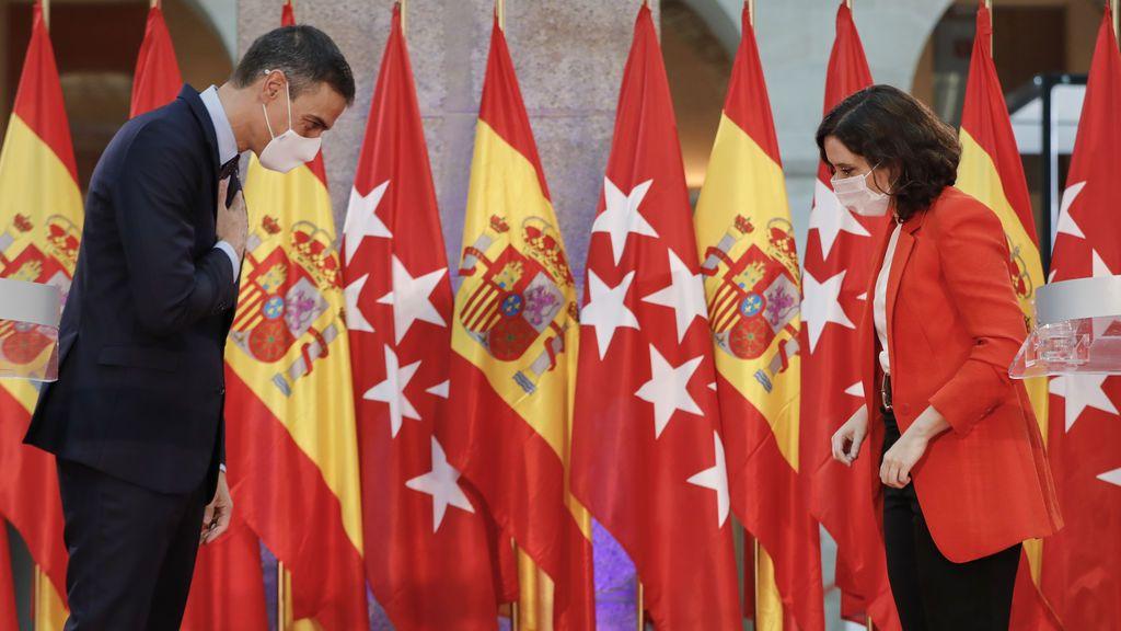 En qué medidas discrepan y en cuáles coinciden el Gobierno central y Madrid