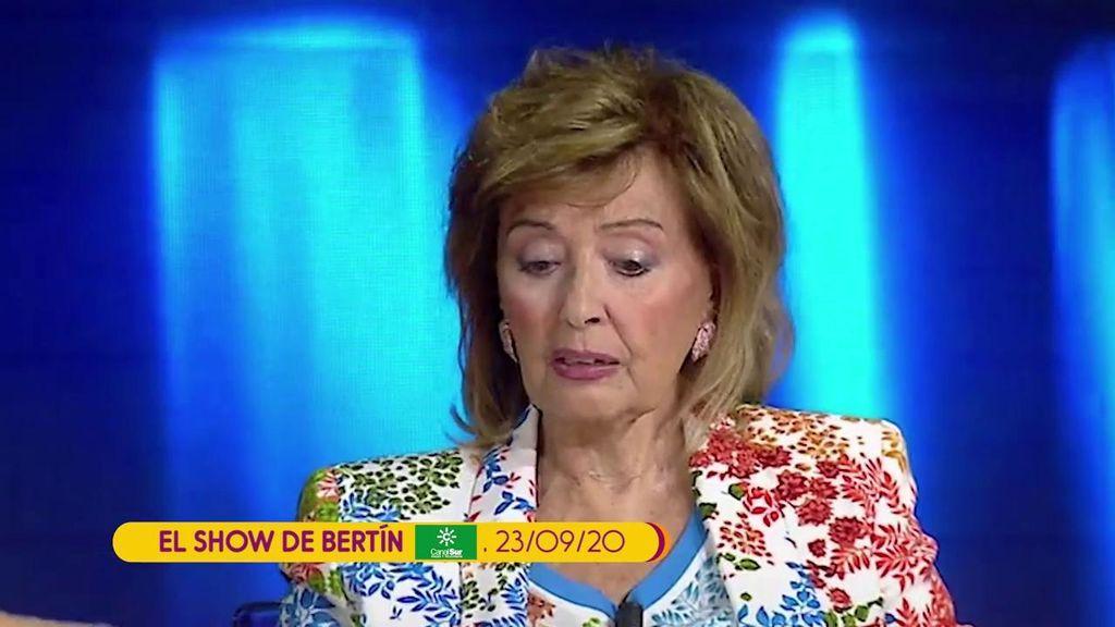 """María Teresa Campos llora recordando a Edmundo: """"Todavía no lo comprendo"""""""