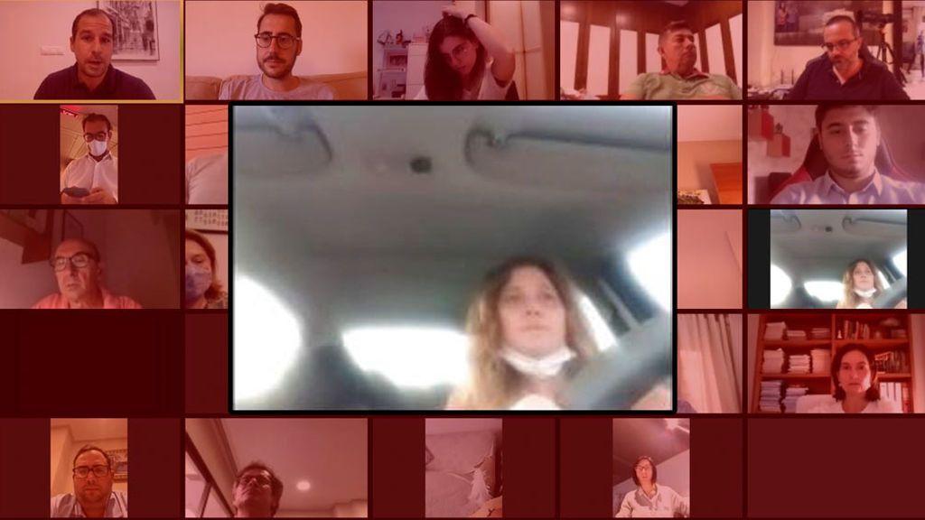 Pillada conduciendo mientras asistía por videoconferencia a la ejecutiva del PP de Elche