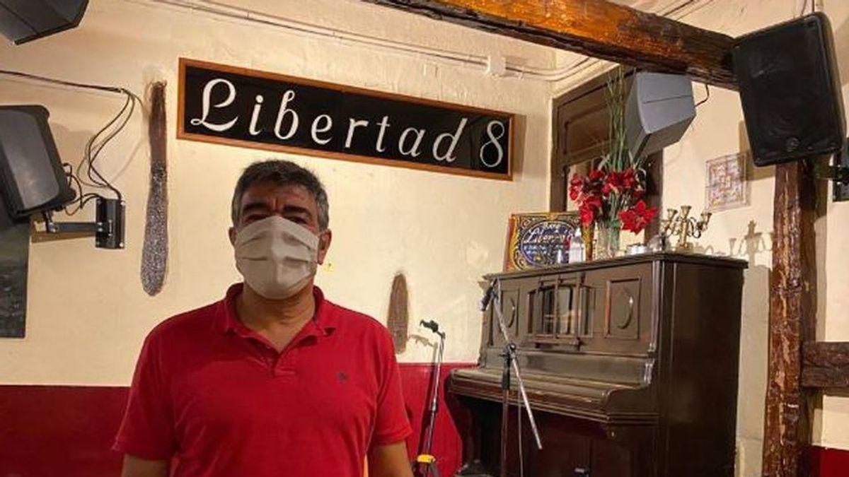 El silencio obligado del Café Libertad 8 por culpa del coronavirus