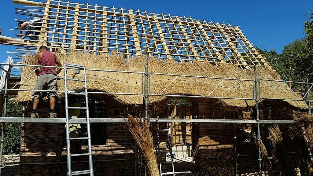 La construcción de una cubierta