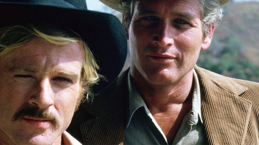Robert Redford y Paul Newman, en 'Dos hombres y un destino' (1969)