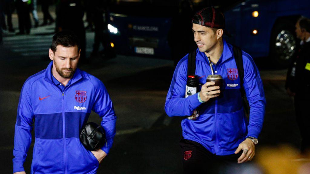 """Messi se despide de Luis Suárez con un dardo a la directiva: """"Te merecías que no te echen como lo hicieron"""""""