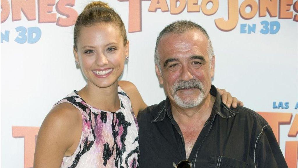 El padre de Michelle y David, Miguel Ángel, también es muy conocido en el mundo del doblaje.
