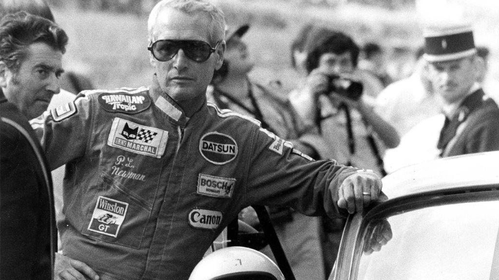 Paul Newman, en la carrera de Le Mans (1979)